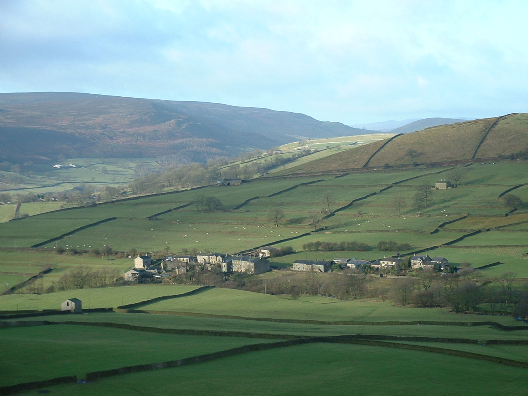 Skyreholme from Howgill
